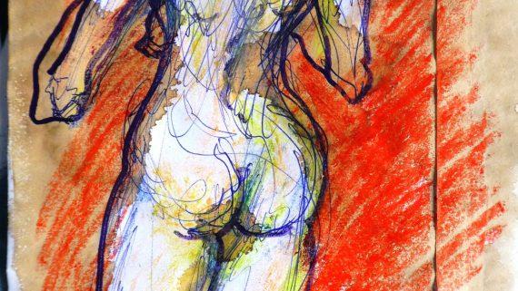dessin de nu par le docteur Vladimir Mitz